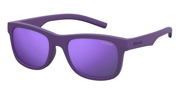 Polaroid Kinderbrillen Sonnenbrille » PLD 8020/S«, lila, 2Q1/MF - lila/lila