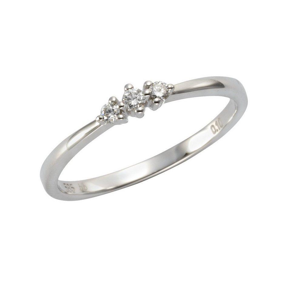 ring weißgold diamant