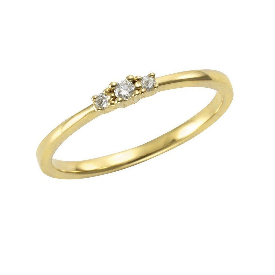 orolino ring 585 gelbgold brillant kaufen otto. Black Bedroom Furniture Sets. Home Design Ideas