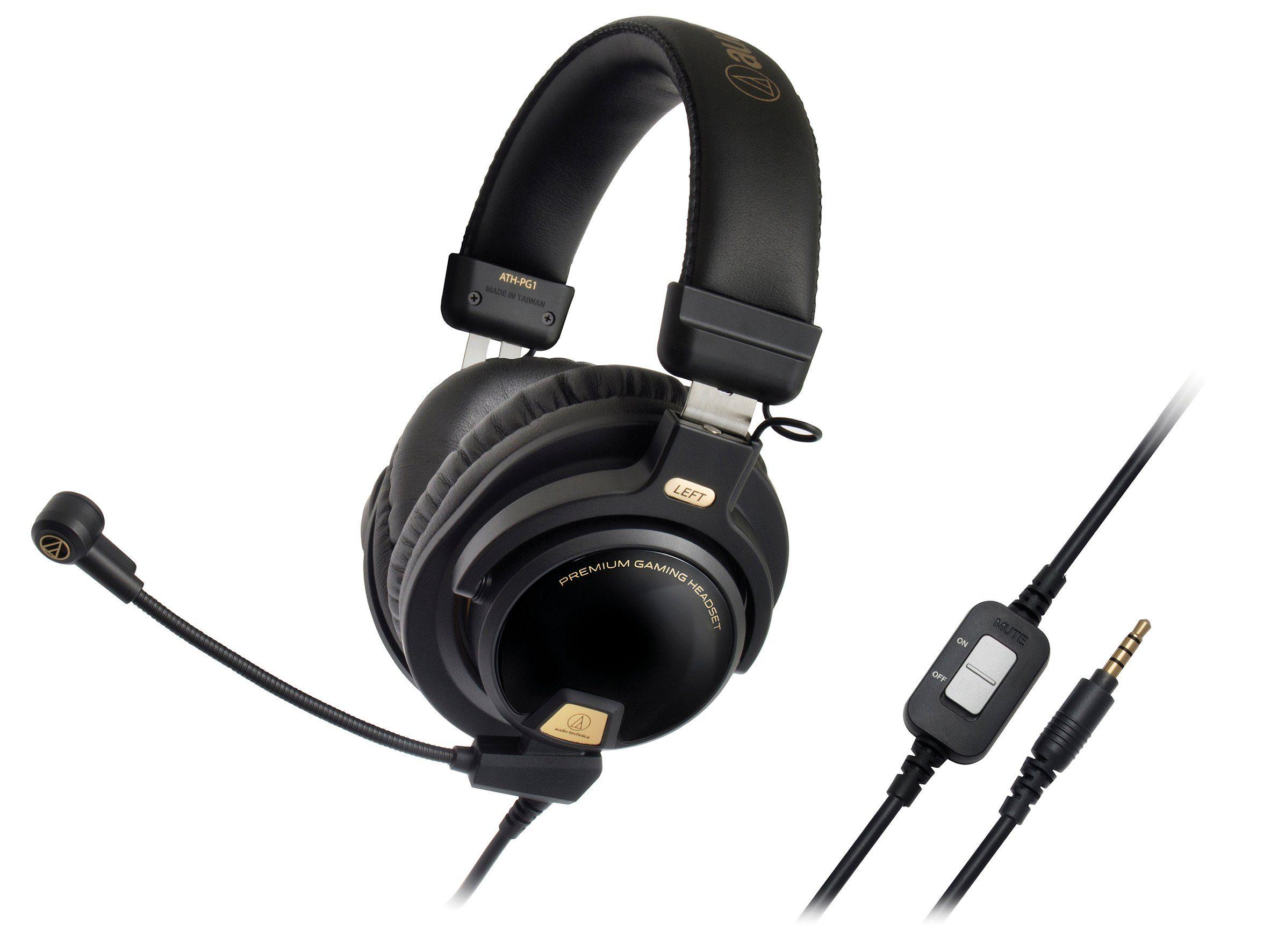 Audio-Technica Over-Ear Premium Gaming Kopfhörer / Headset »ATH-PG1«