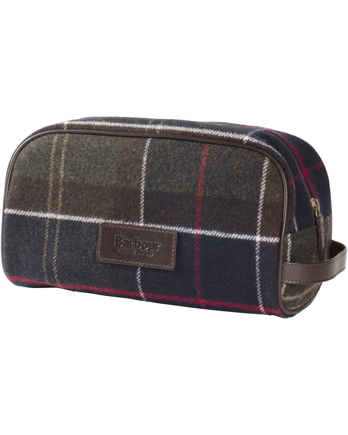 Barbour Kulturbeutel Tartan Washbag