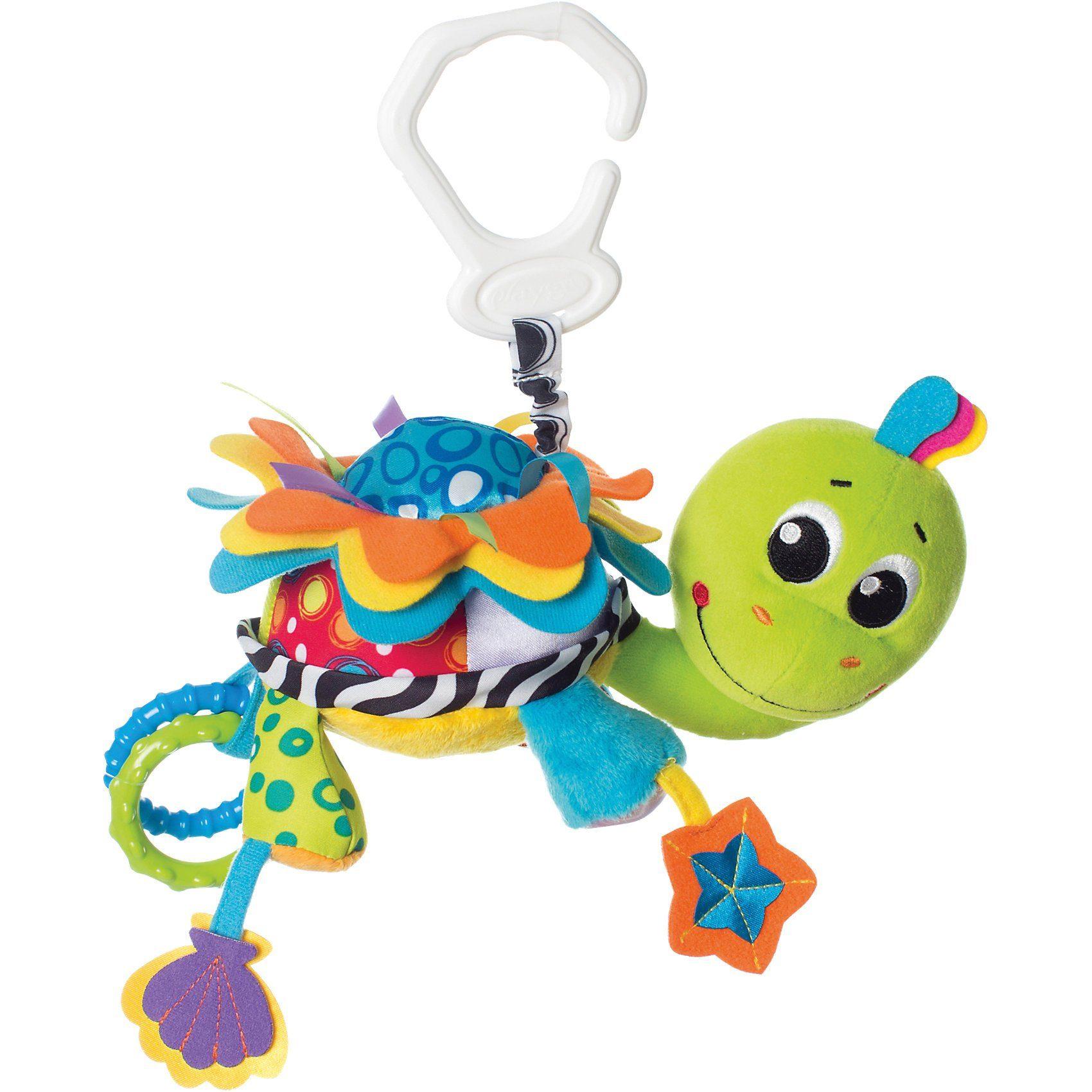 Playgro Kinderwagenanhänger Schildkröte Flip, groß