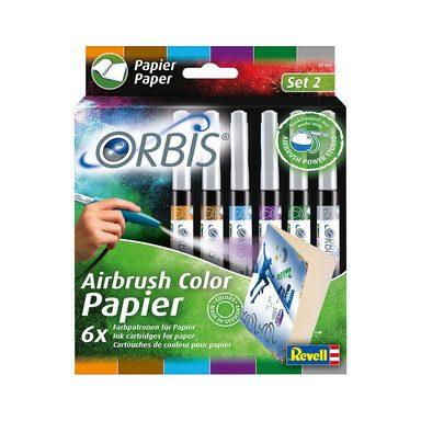 Revell® Orbis 30104 Airbrush Papierpatronen Zusatzfarben, 6 Шт