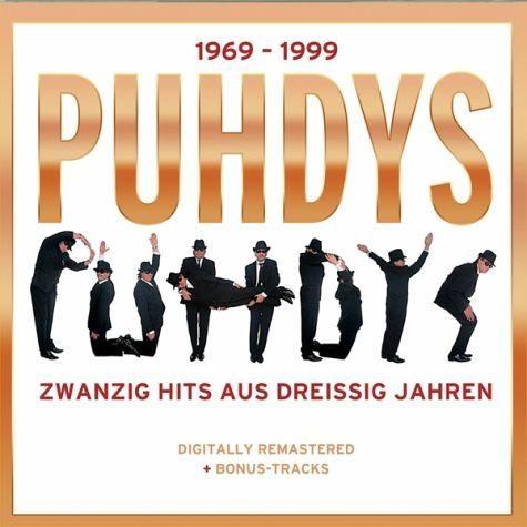 Audio CD »Puhdys: Puhdys-1969-1999 (20 Hits Aus 30 Jahren)«