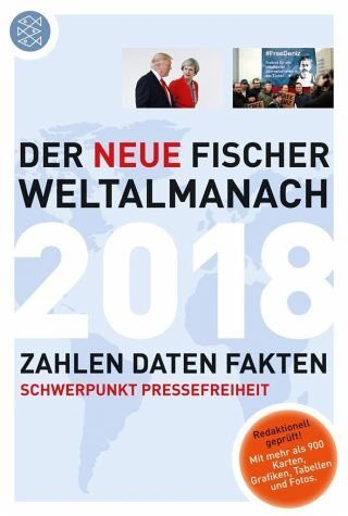 Broschiertes Buch »Der neue Fischer Weltalmanach 2018«
