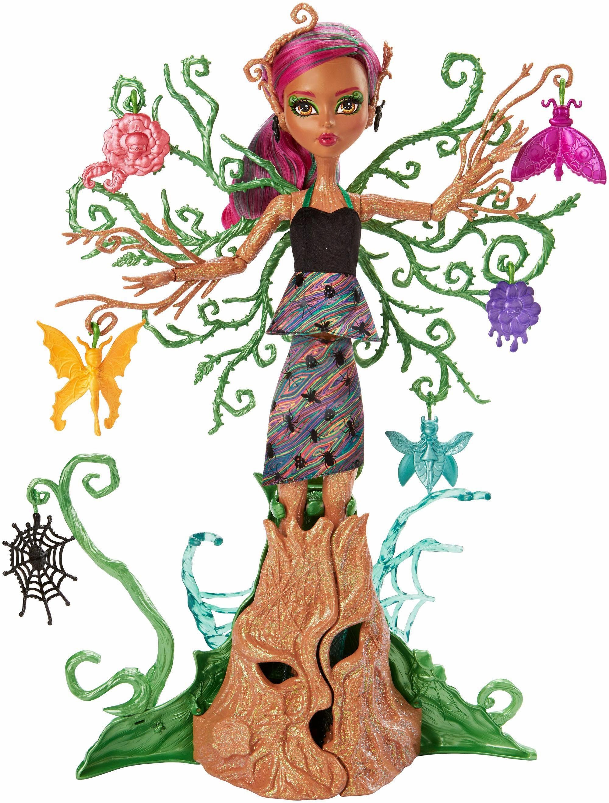 Mattel Puppe, »Monster High Garten-Monsterfreundinnen Treesa Thornwillow«