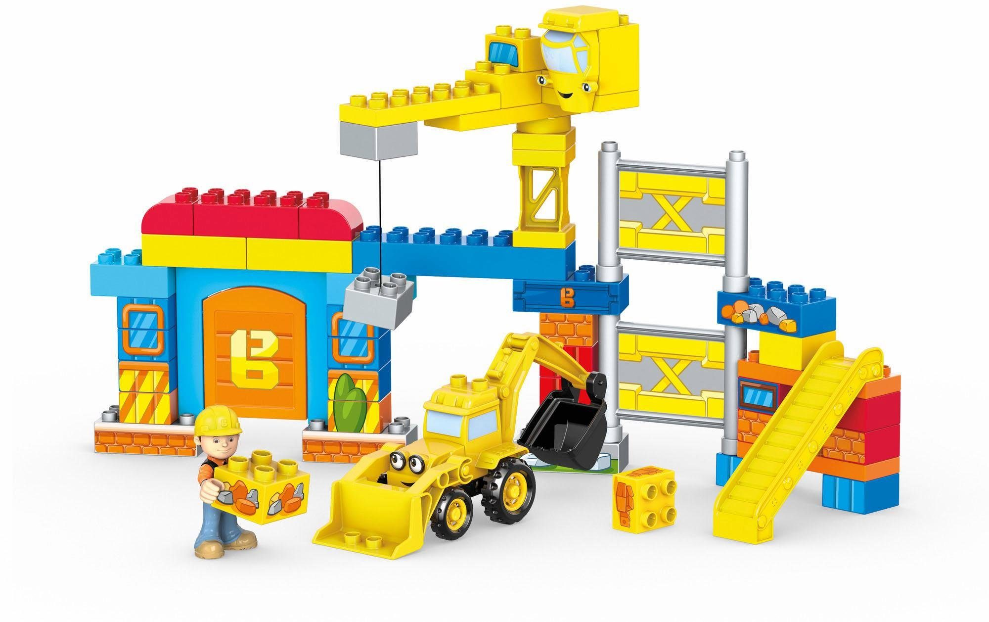 Mattel Spielset, »Mega Construx Bob der Baumeister Werkstatt Bauset«