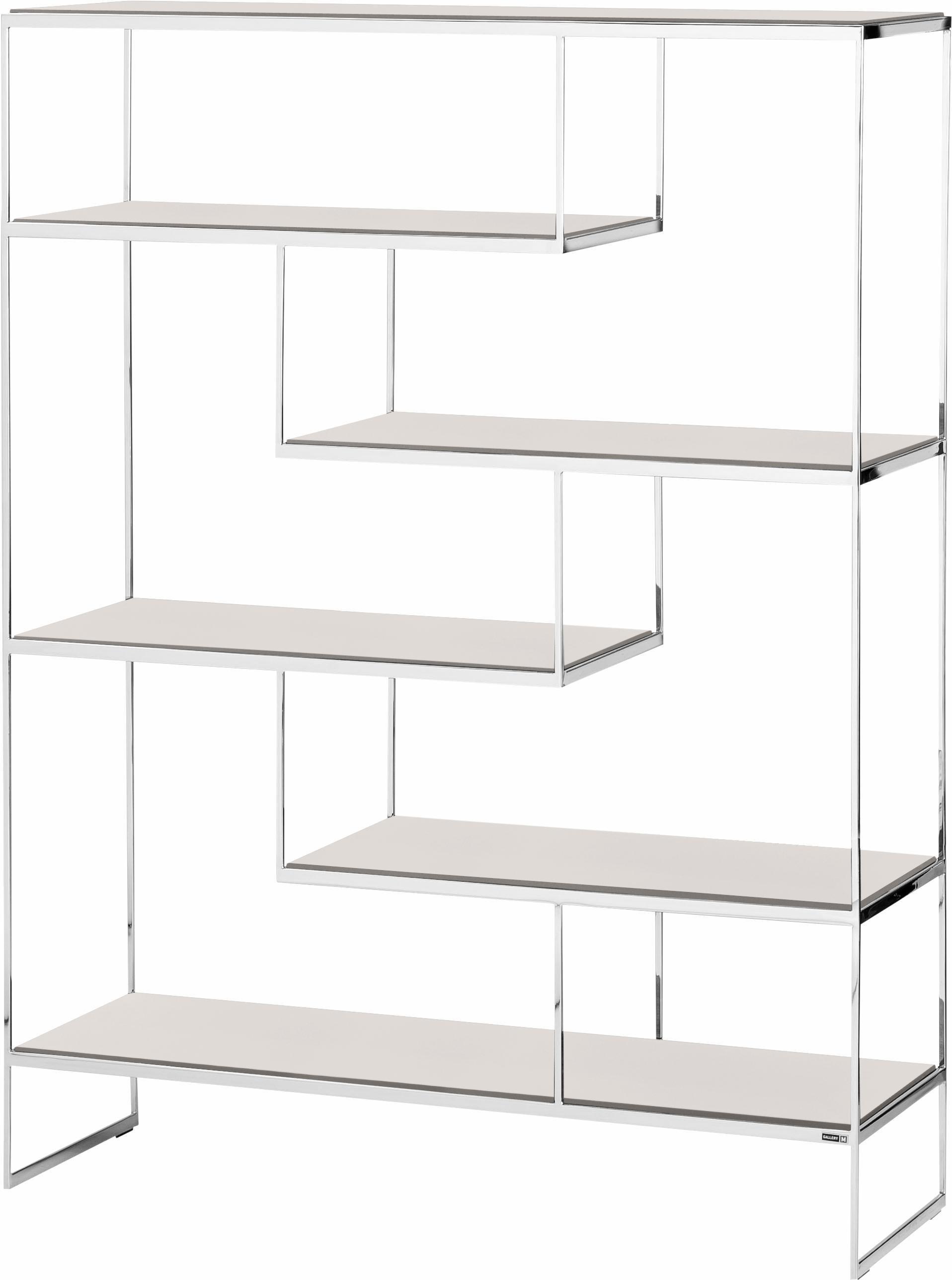 GALLERY M Raumteiler »Toscana« T 1508 mit Einlegeböden in zwei Größen | Wohnzimmer > Regale > Raumteiler | Holz - Lack - Wildeiche - Nussbaum | Gallery M