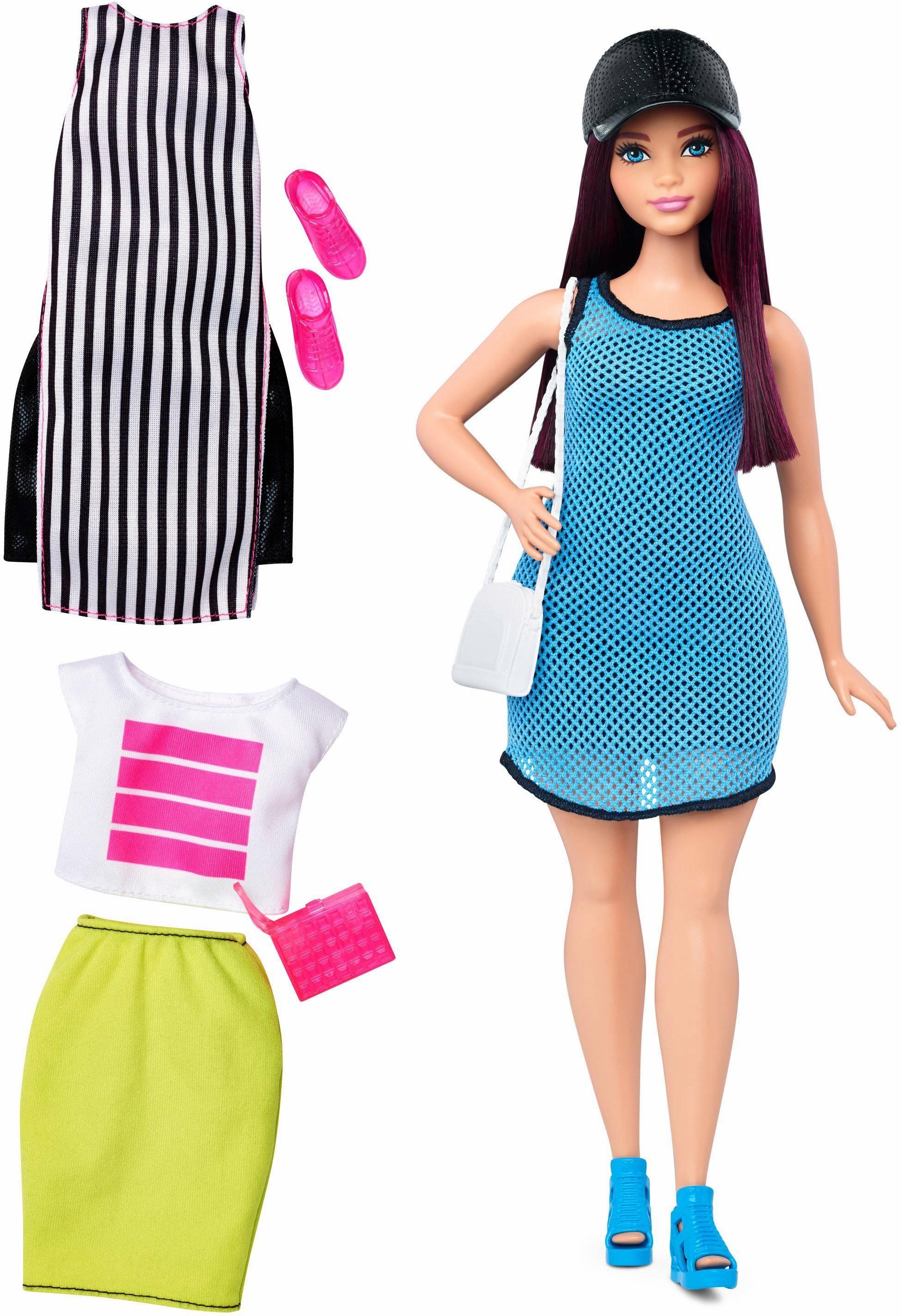 Mattel Puppe, »Barbie Fashionistas Style Puppe und Moden im Freizeit-Look«