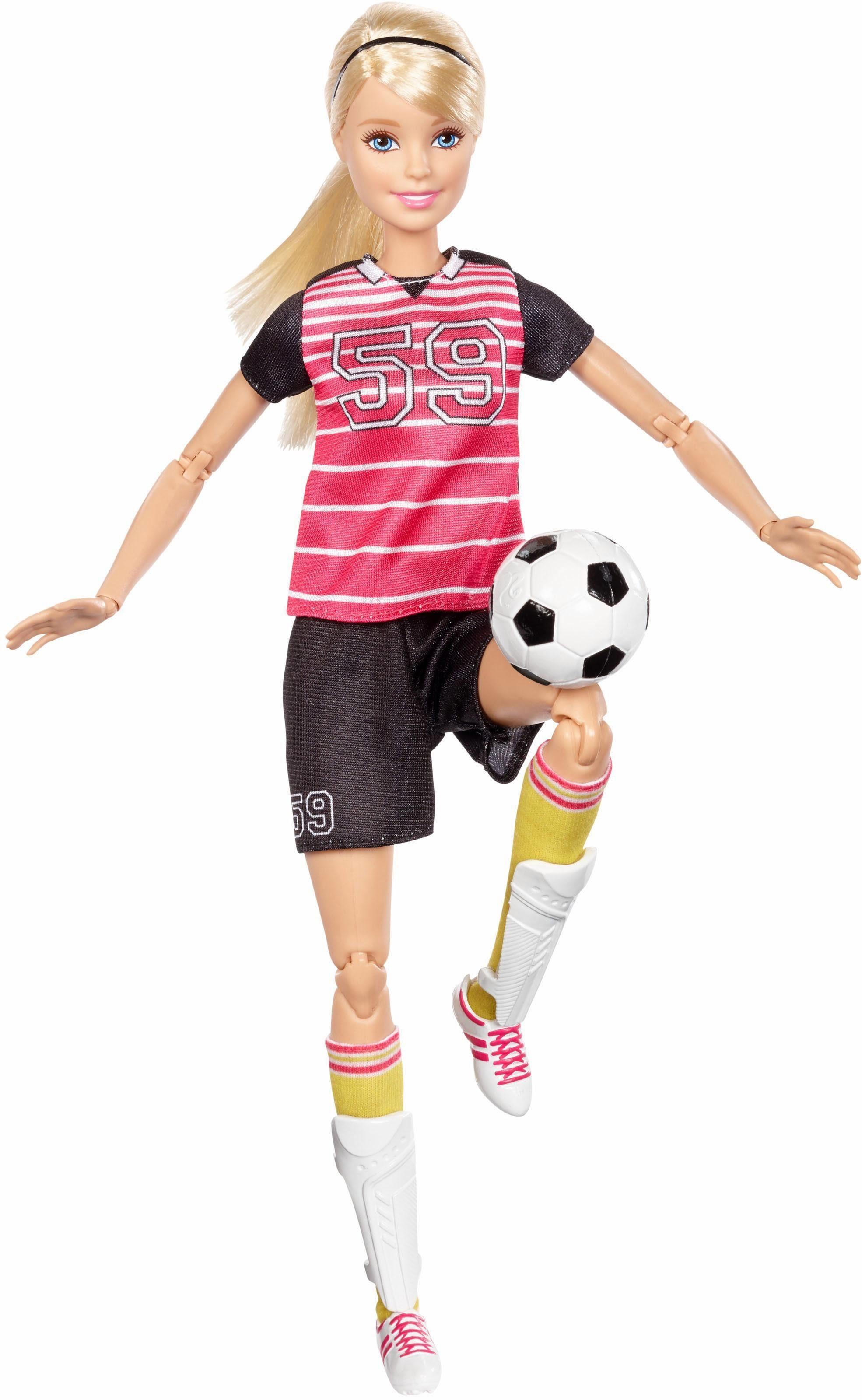 Mattel Puppe, »Barbie Made to Move Fußballspielerin«