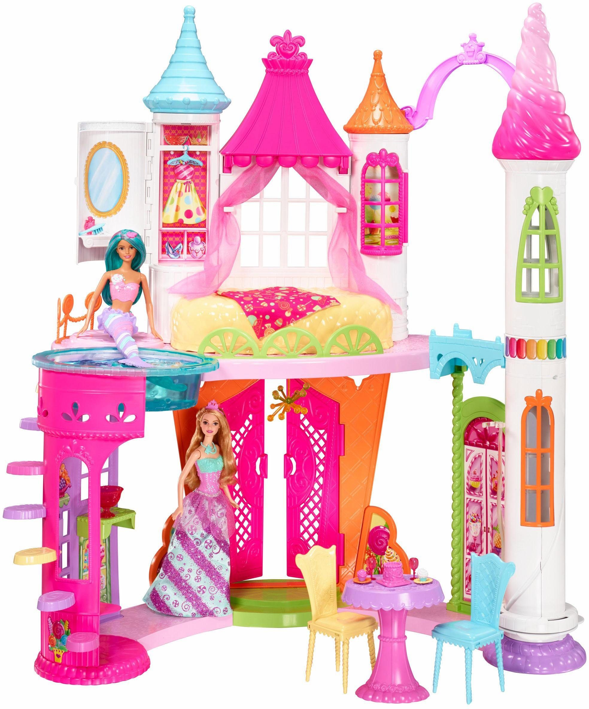 Mattel Puppenhaus, »Barbie Bonbon Königreich Schloss«