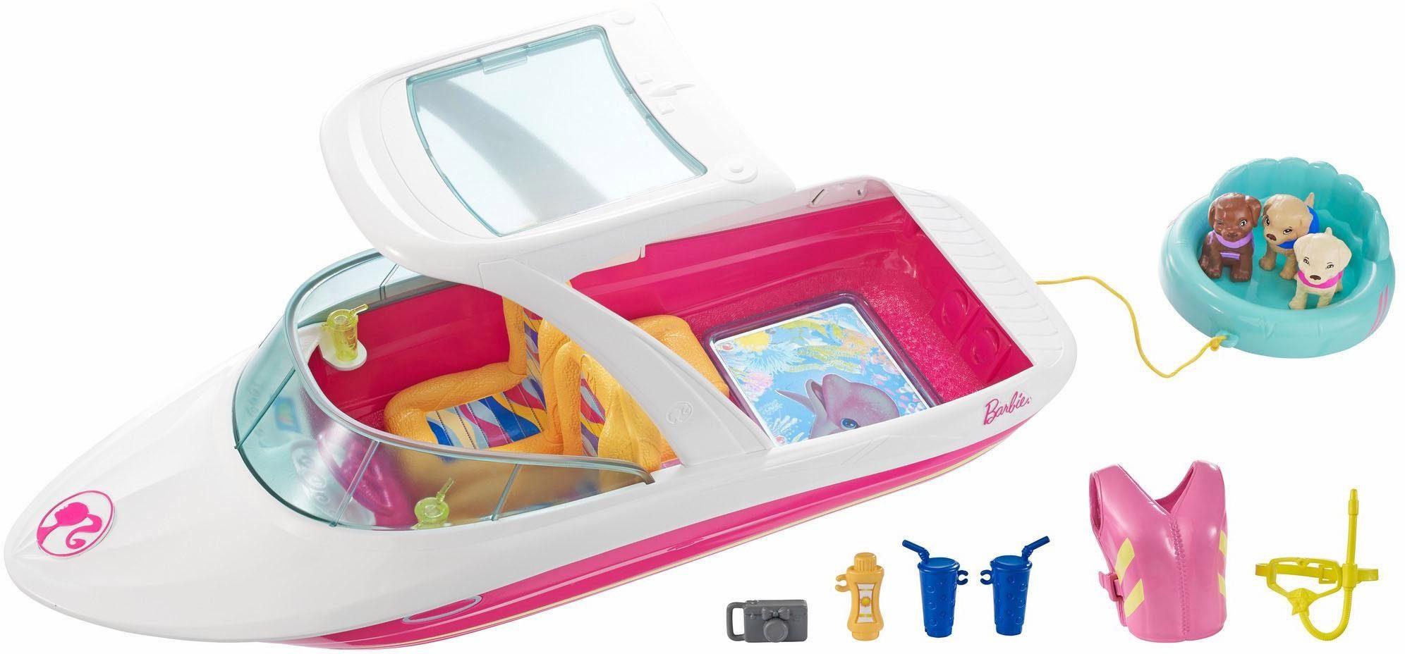Mattel Puppen Abenteuerboot, »Barbie Magie der Delfine, Abenteuerboot«