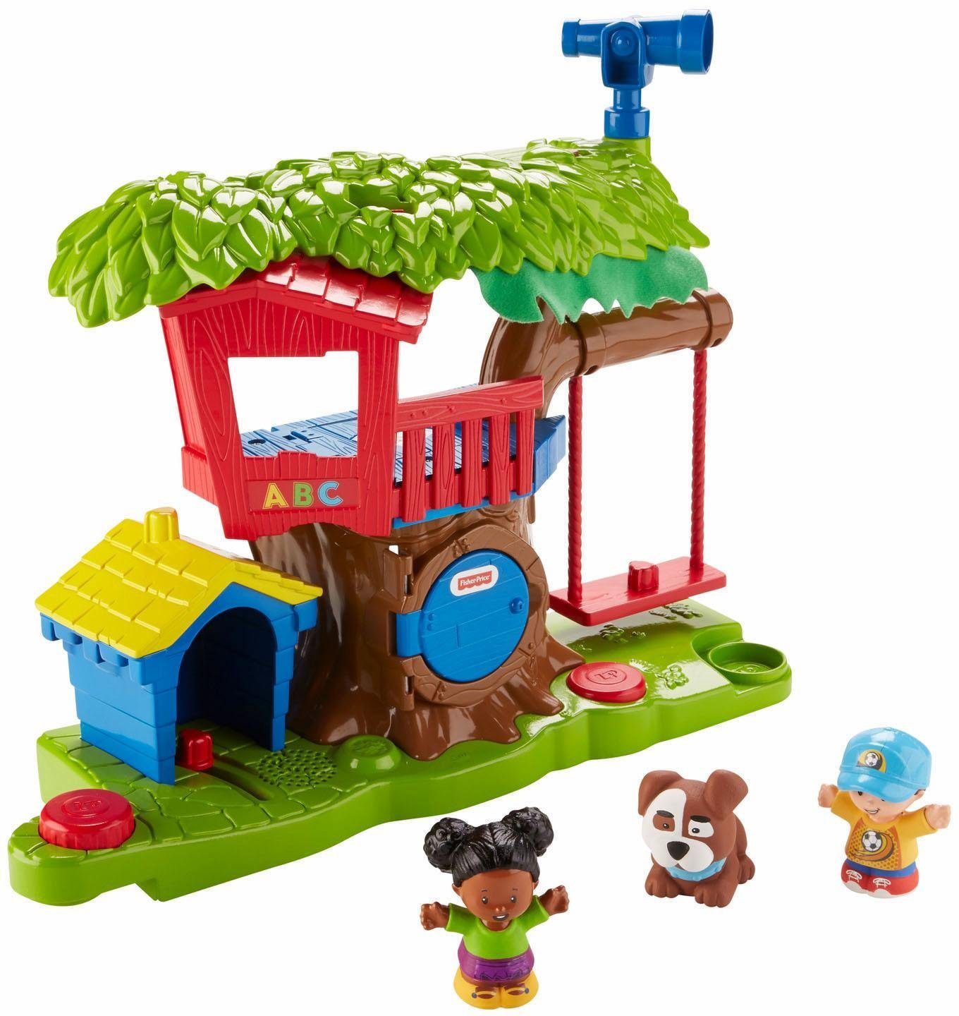 Fisher Price Spielset, »Little People Baumhaus«