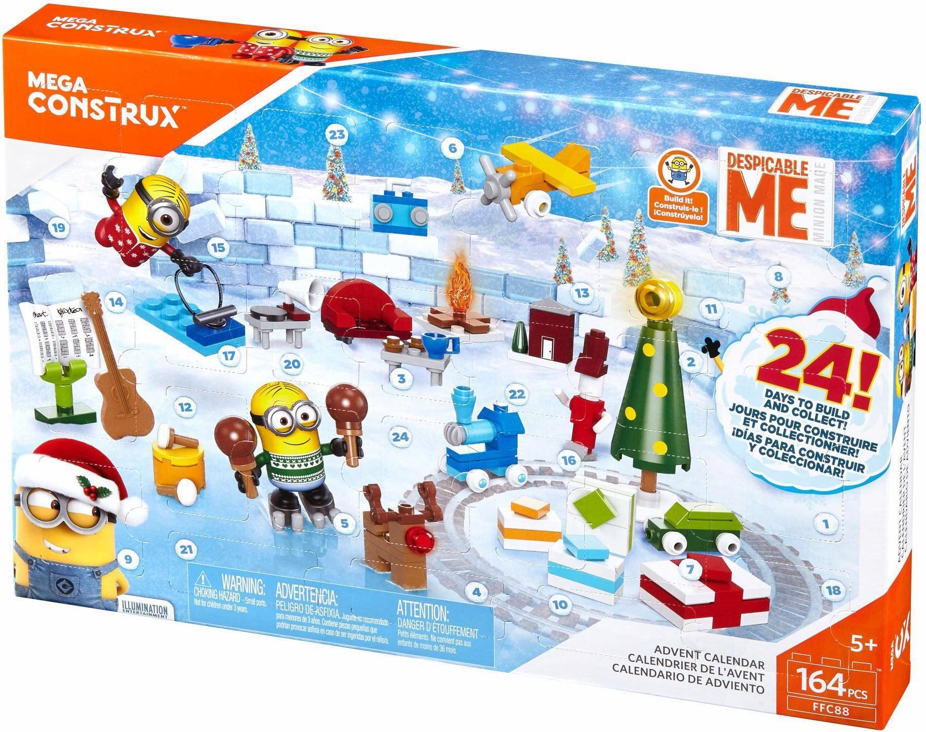 Mattel Adventskalender, »Mega Construx, Ich - einfach unverbesserlich 3«
