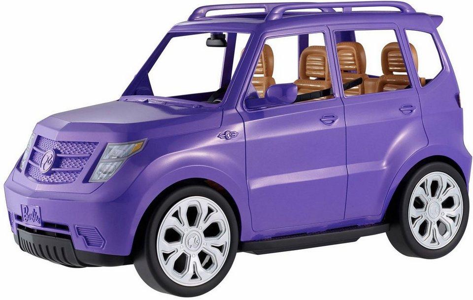 mattel puppenauto barbie gel ndewagen kaufen otto. Black Bedroom Furniture Sets. Home Design Ideas