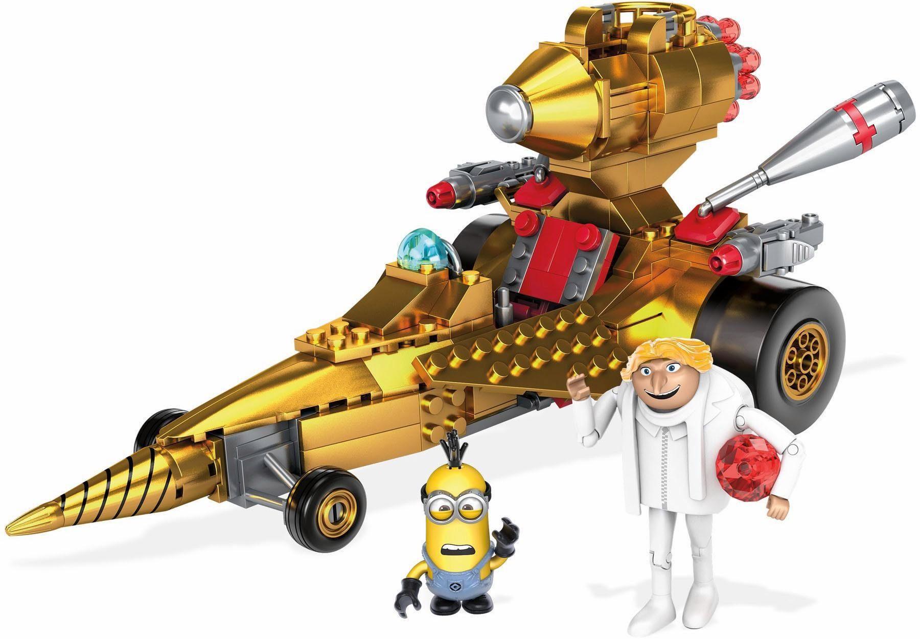 Mattel Konstruktionsspielzeug, »Mega Construx, Ich - einfach unverbesserlich 3, Dru's Raketenauto«