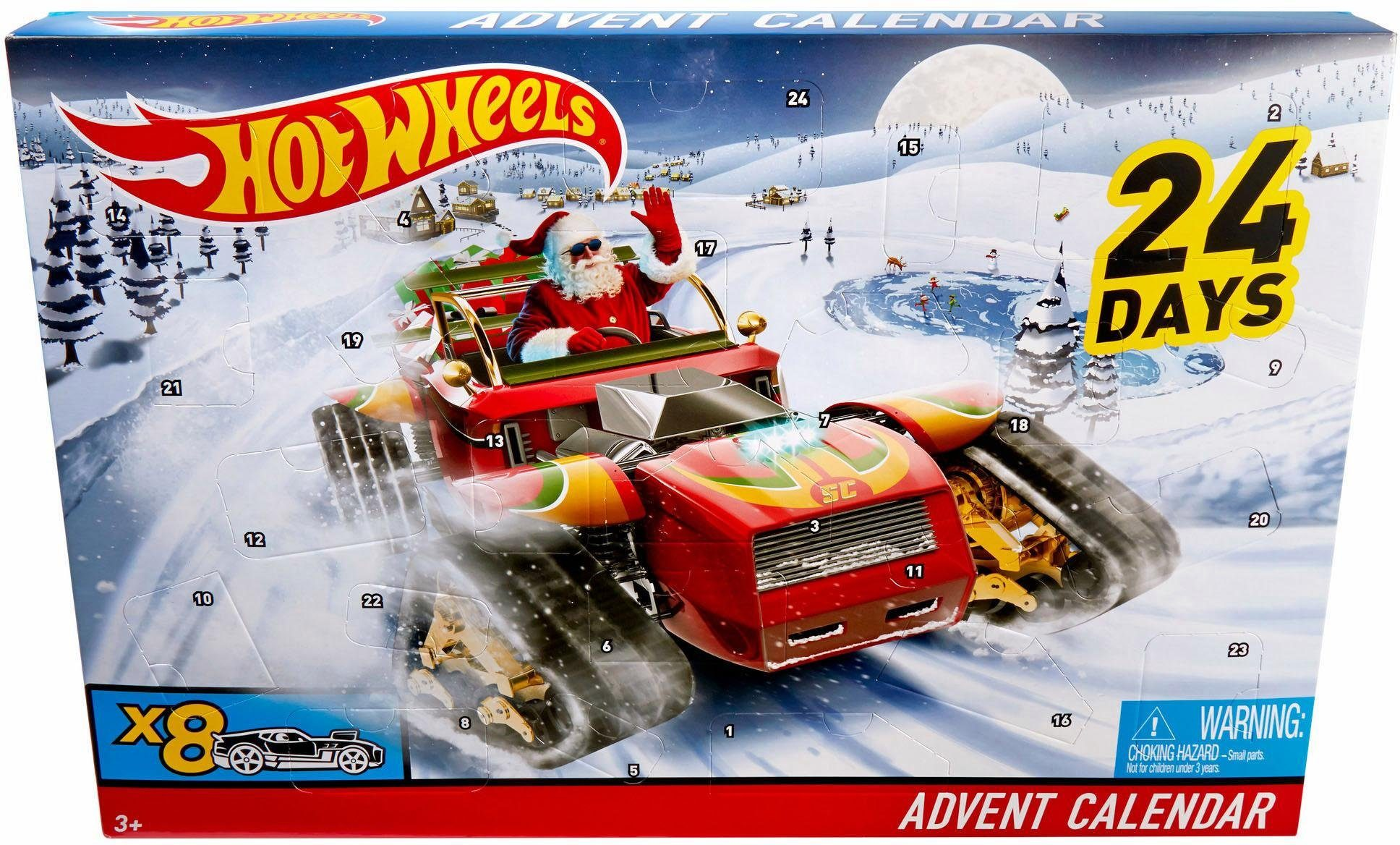 Mattel Adventskalender, »Hot Wheels«