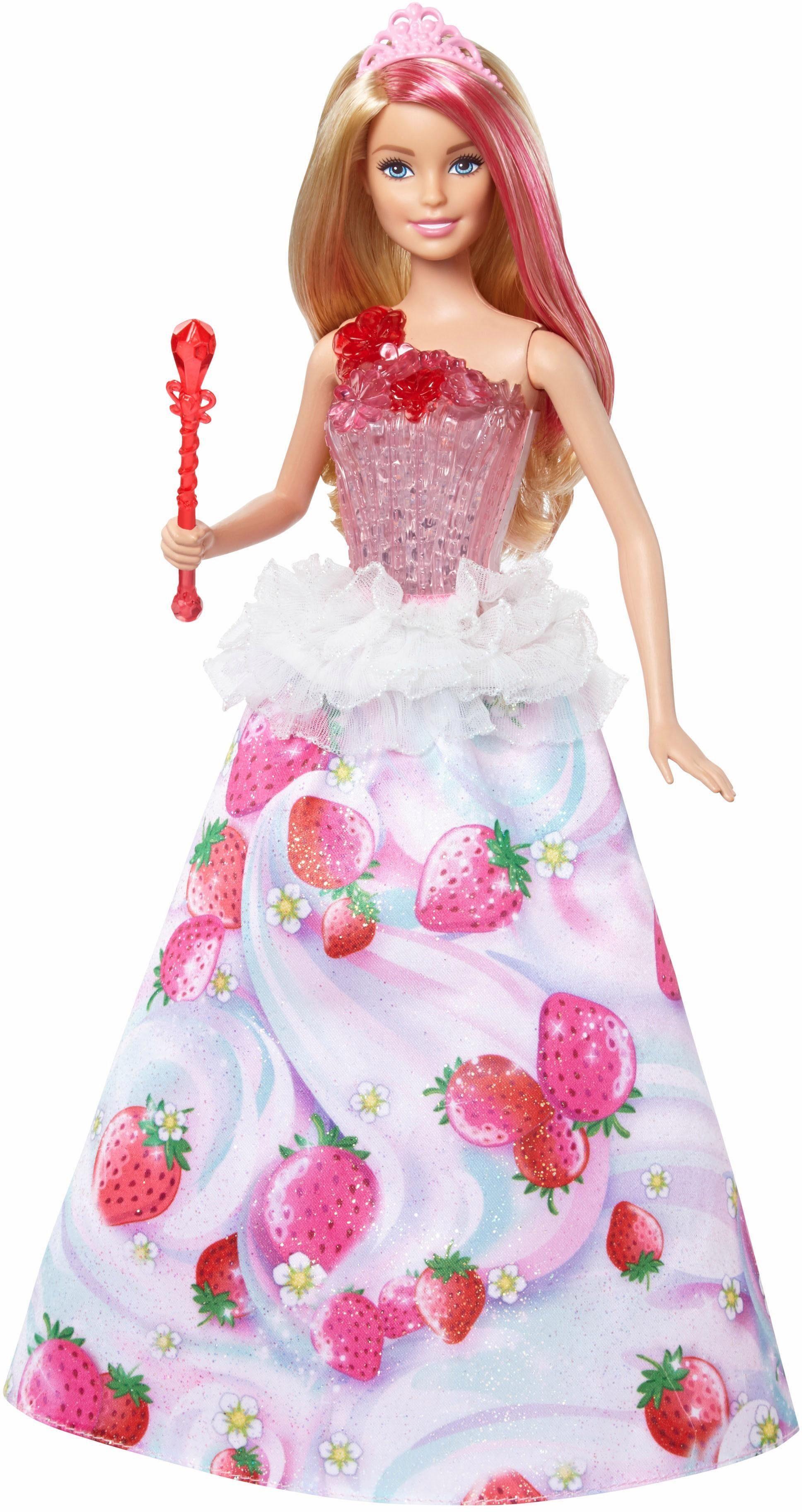 Mattel Puppe mit Licht und Musik, »Barbie Bonbon Prinzessin«