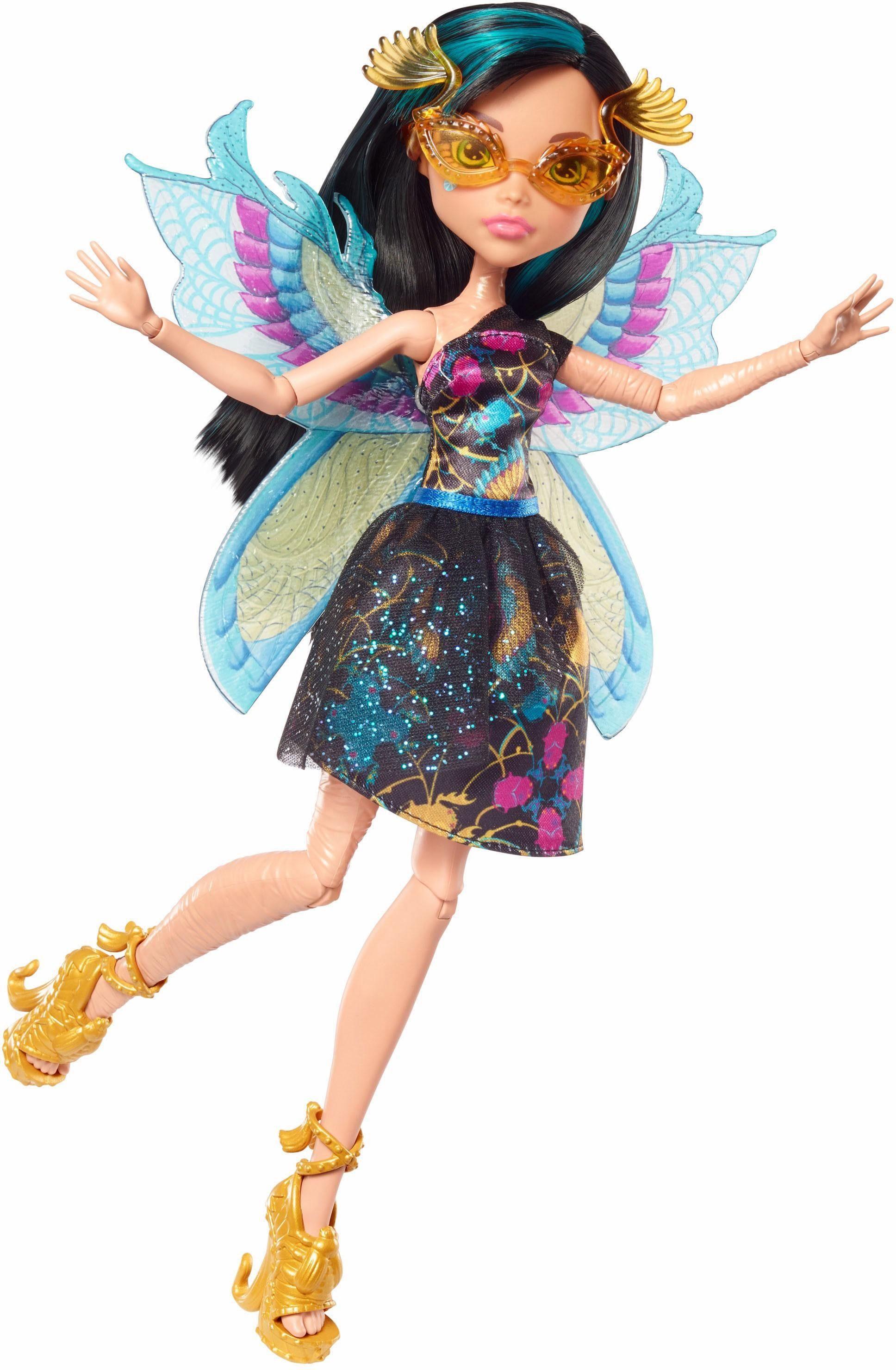 Mattel Puppe, »Monster High Garten, Monsterfreundinnen Cleo de Nile«