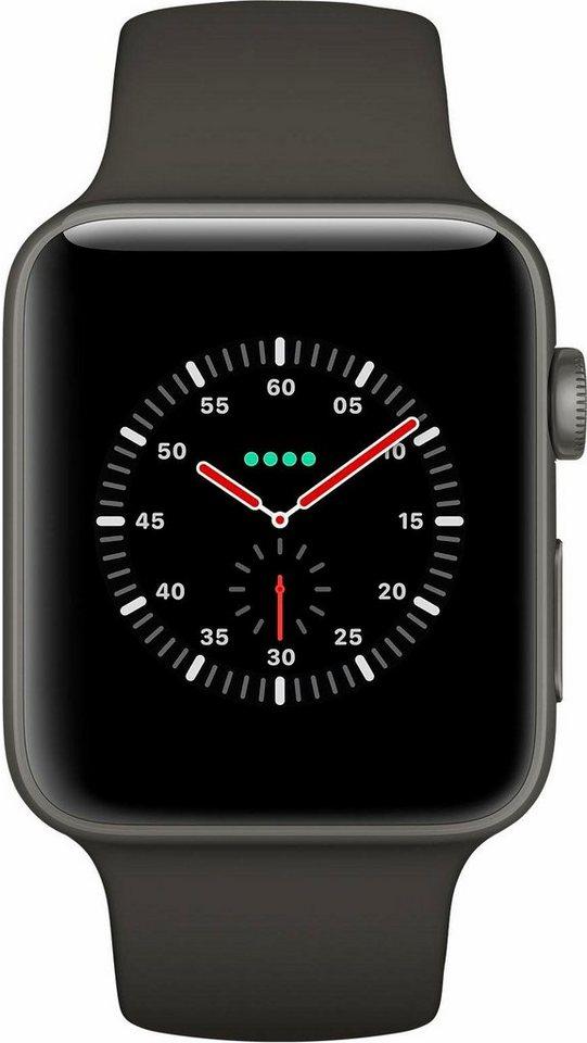 Smartwatches - Apple Watch Edition Series 3, Keramikgehäuse, 38mm mit Sportarmband  - Onlineshop OTTO