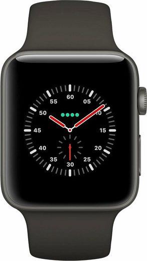 Apple Watch Edition Series 3, Keramikgehäuse, 38mm mit Sportarmband