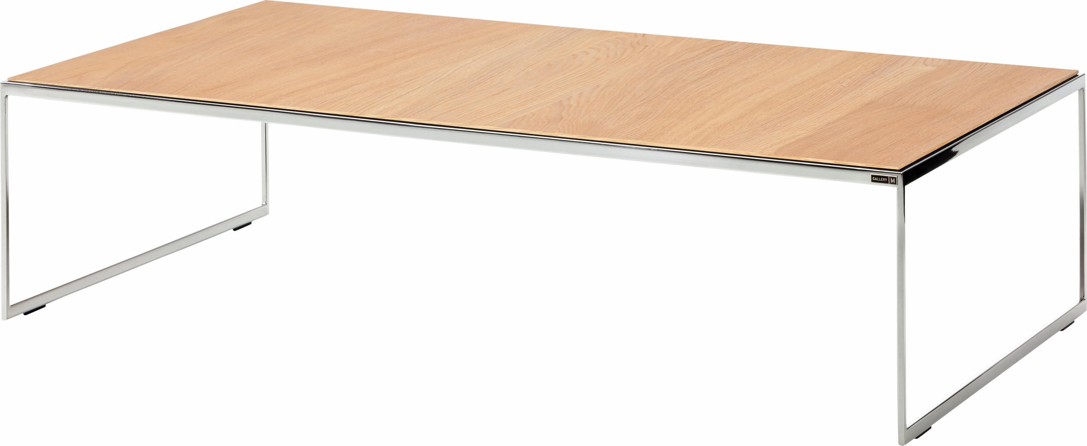 GALLERY M Couchtisch »Toscana« T 1501/T 1505 | Wohnzimmer > Tische > Couchtische | Chrom | Holz - Wildeiche - Nussbaum | Gallery M