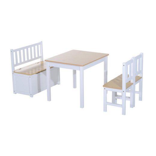 HOMCOM Kindersitzgruppe »Kindersitzgruppe als 4 teiliges Set«