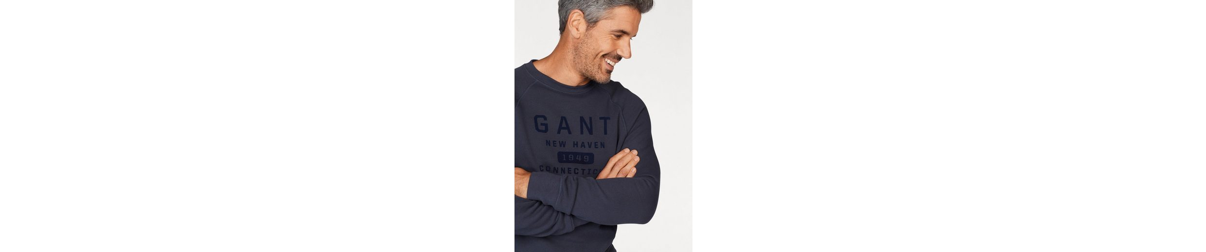 Gant Sweatshirt NEW HEAVEN, mit Flockprint