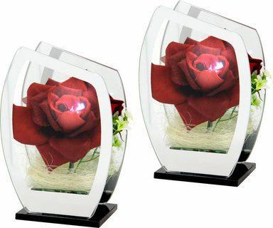 rose im glas mit led licht online kaufen otto. Black Bedroom Furniture Sets. Home Design Ideas