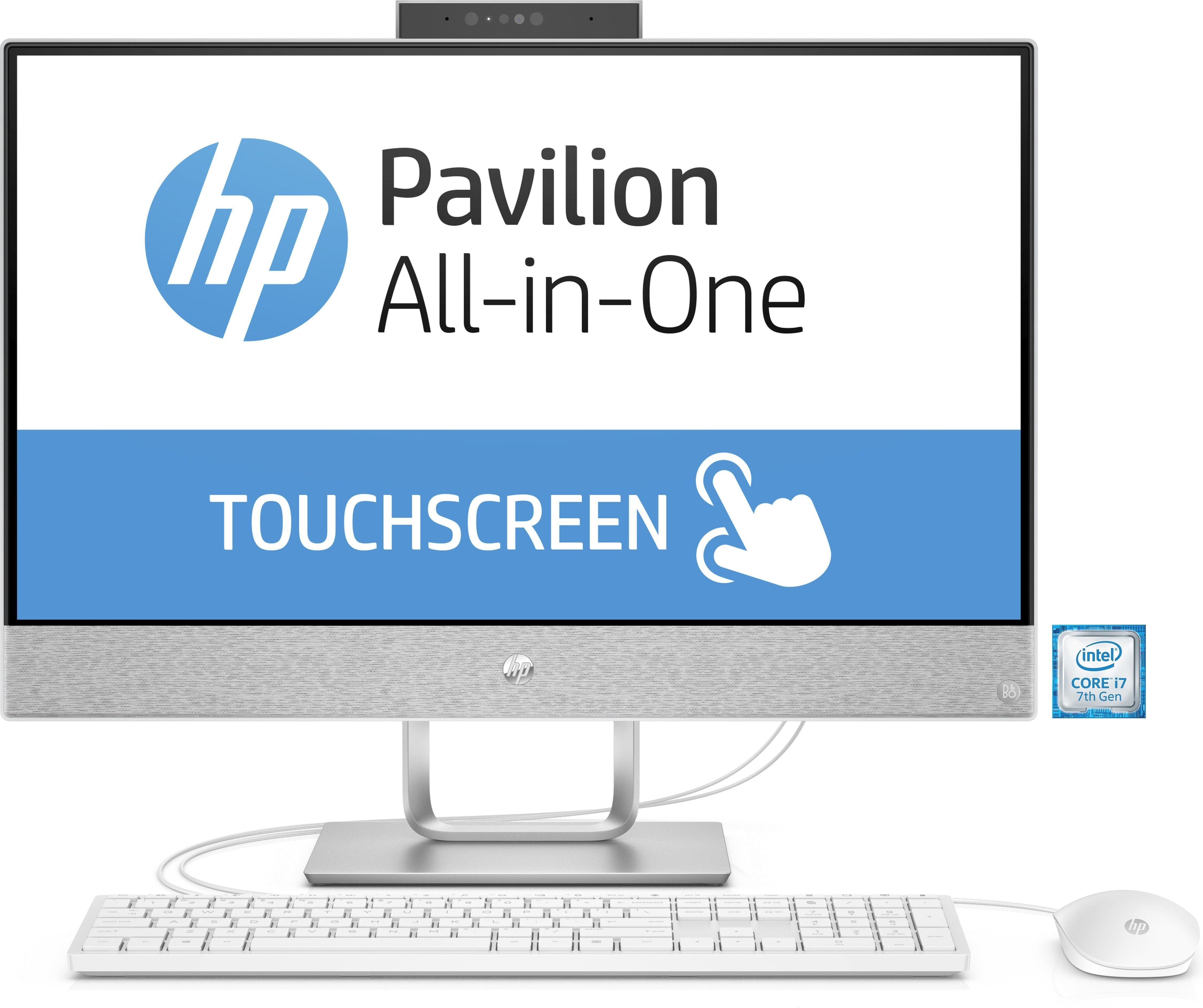 """HP Pavilion 24-x051ng All-in-One PC »Intel Core i7,60,4cm (23,8""""), 2 TB HDD, 256 GB SSD«"""