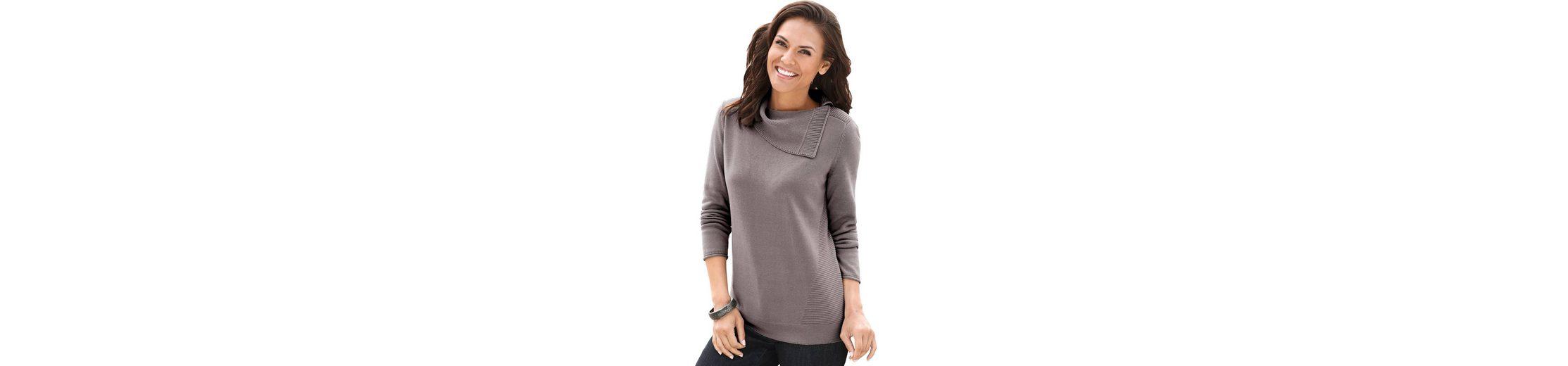 Verkauf Wahl Preiswerte Neue Collection L Pullover mit asymmetrischem Ausschnitt gHoGTNmO