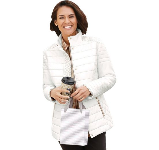 tollen Jacke Casual Mix im Looks Steppmuster qvn7ztw