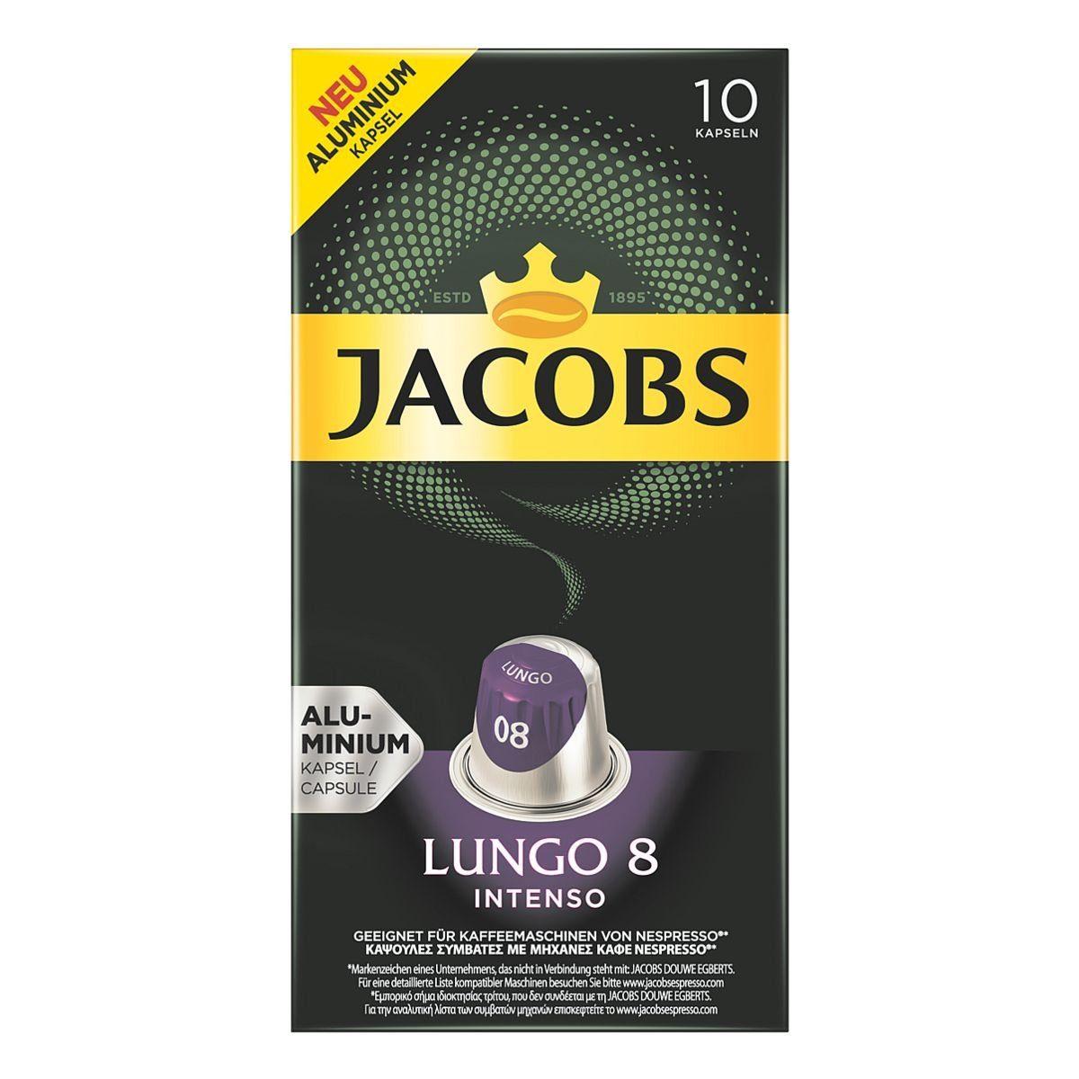 JACOBS Kaffeekapseln »Lungo Intenso«