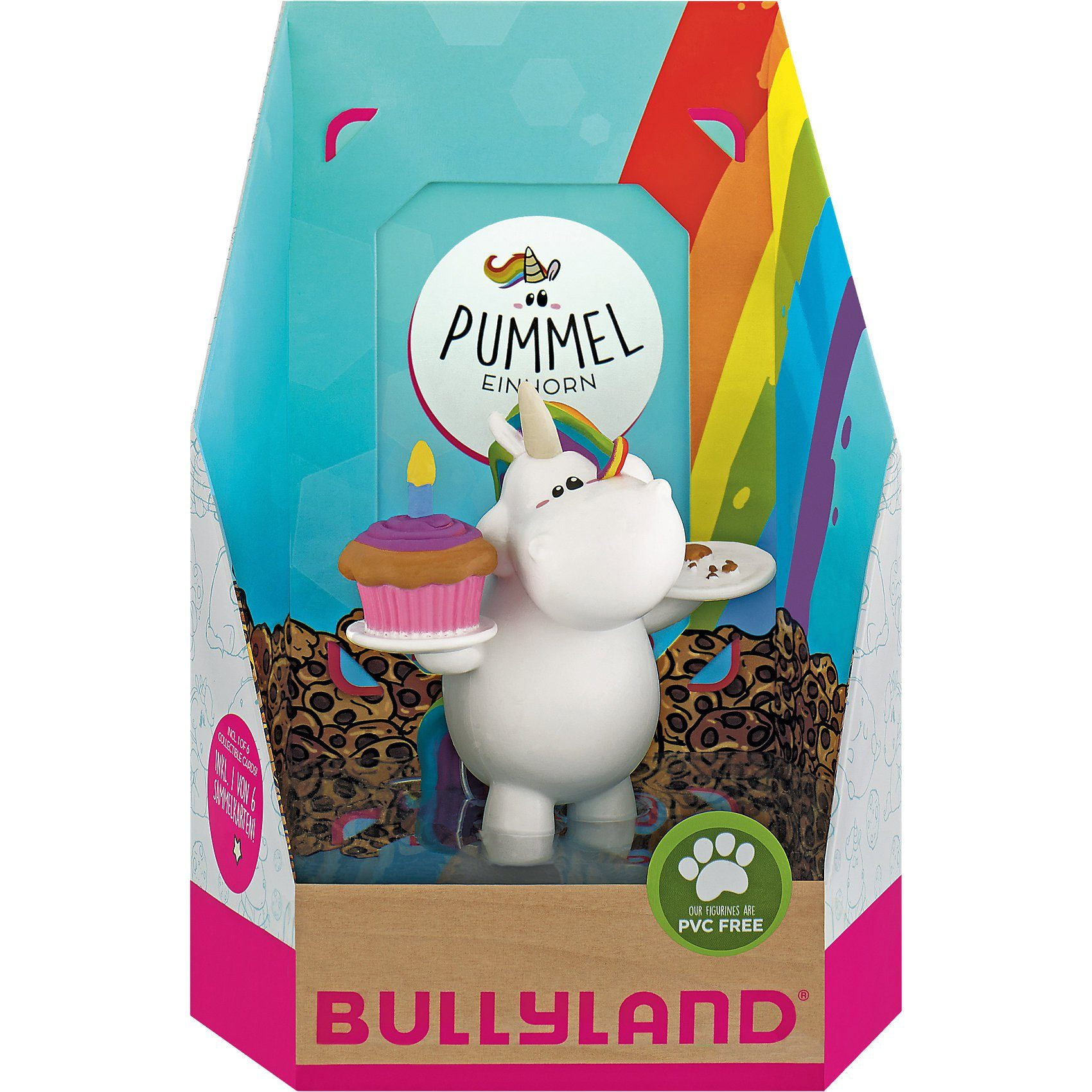 BULLYLAND Geburtstags-Pummel Single Pack mit Sammelkarte