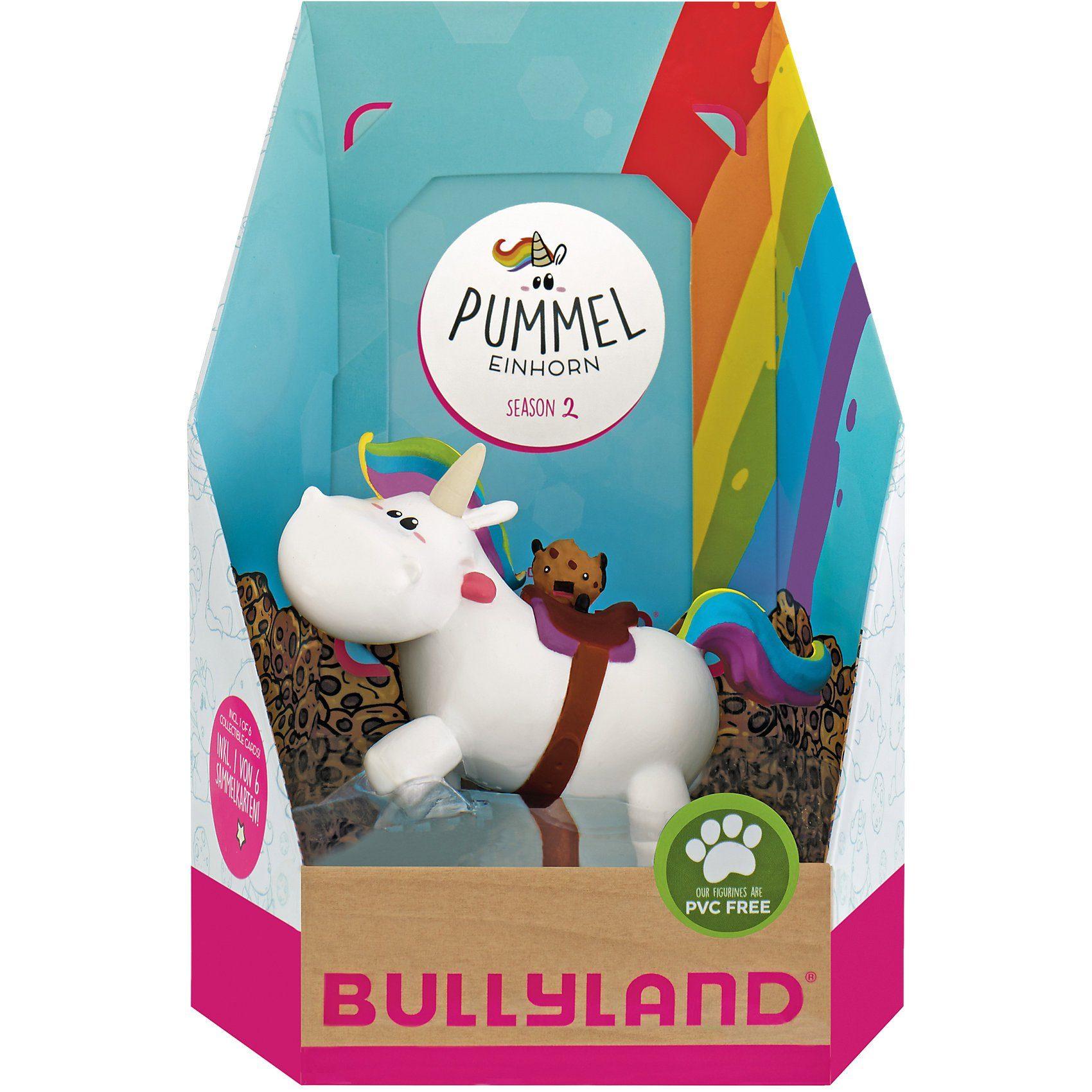 BULLYLAND Pummel reitend Single Pack mit Sammelkarte