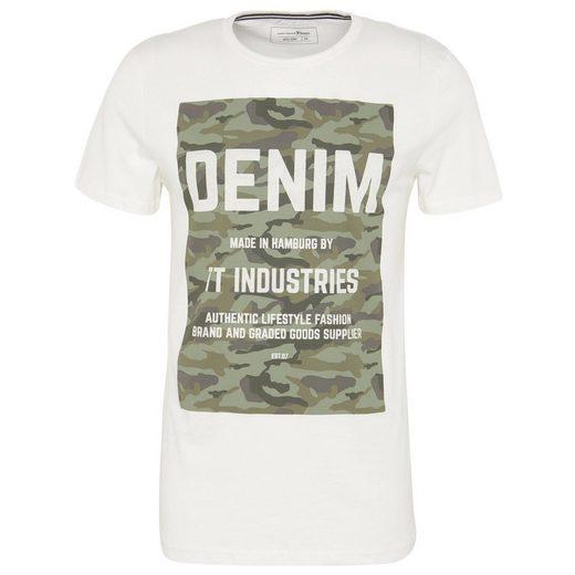Tom Tailor Denim T-Shirt mit Camouflage-Print