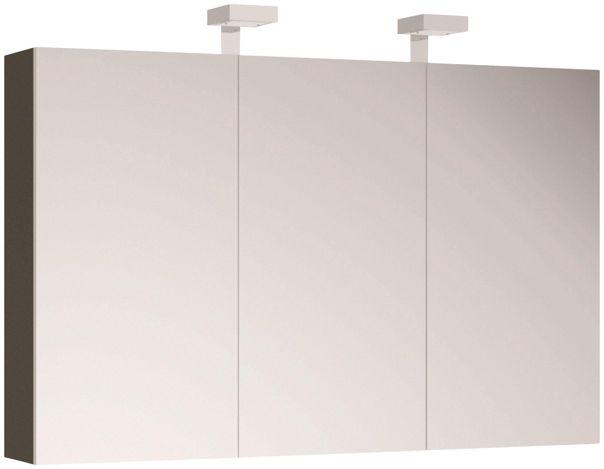 ALLIBERT Spiegelschrank , Breite 120 cm mit LED-Beleuchtung