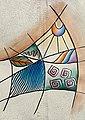 Art & Craft Umhängetasche, aus Leder mit Reißverschluss-Innenfach, Bild 7