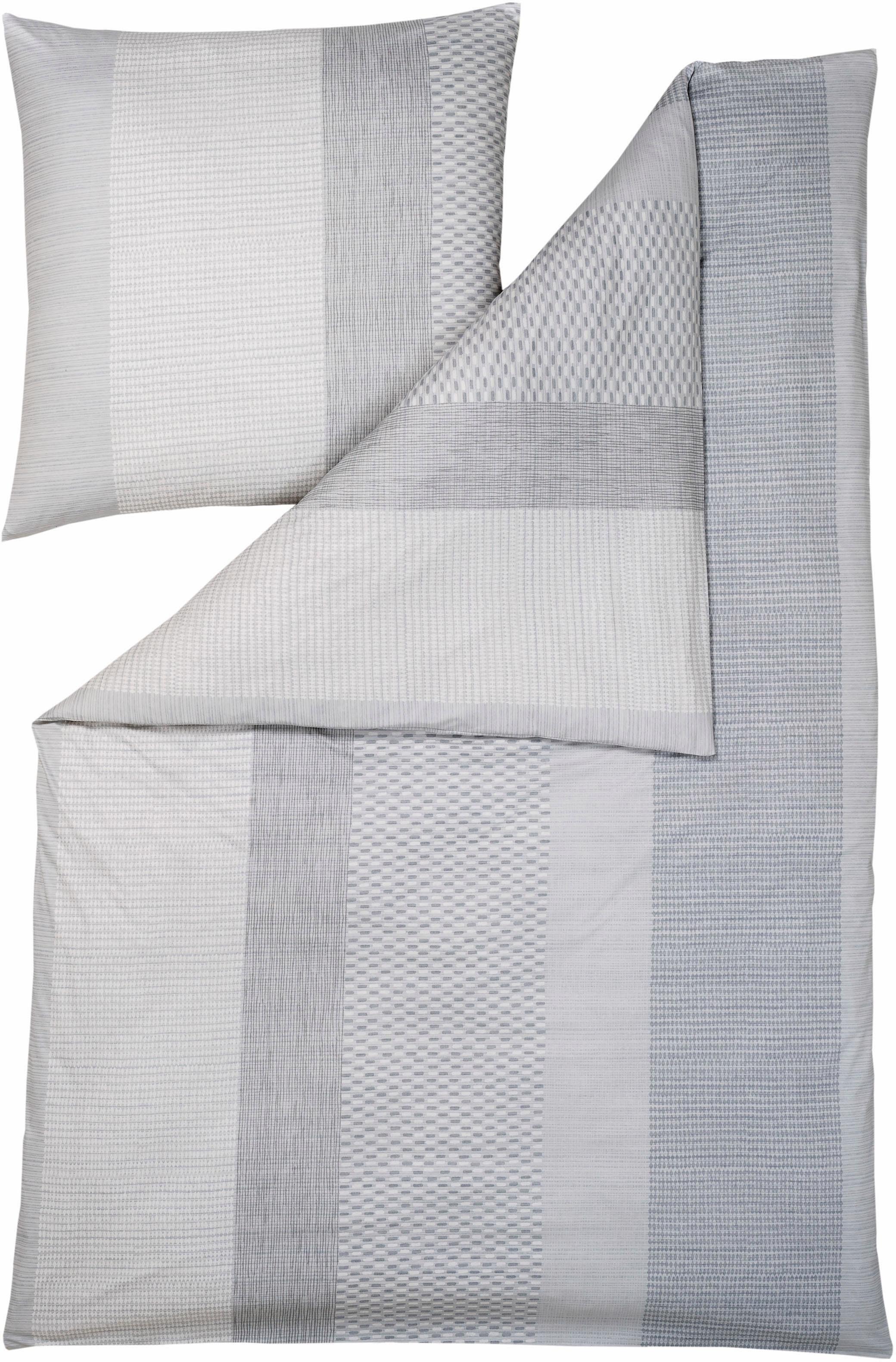 Bettwäsche, Estella Atelier, »Jona«, mit Muster