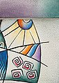 Art & Craft Cityrucksack, aus Leder mit praktischer Einteilung, Bild 6