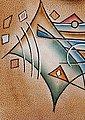 Art & Craft Henkeltasche, aus Leder mit vielen Einteilungen, Bild 7