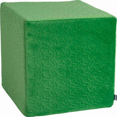 H.O.C.K. Sitzwürfel »Soft Nobile«, 45/45/45 cm