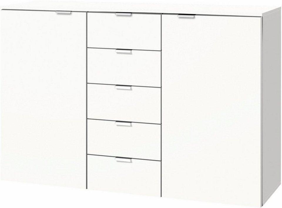 kommode wei 140 cm breit simple fernseher sideboard in braun wei cm with kommode wei 140 cm. Black Bedroom Furniture Sets. Home Design Ideas
