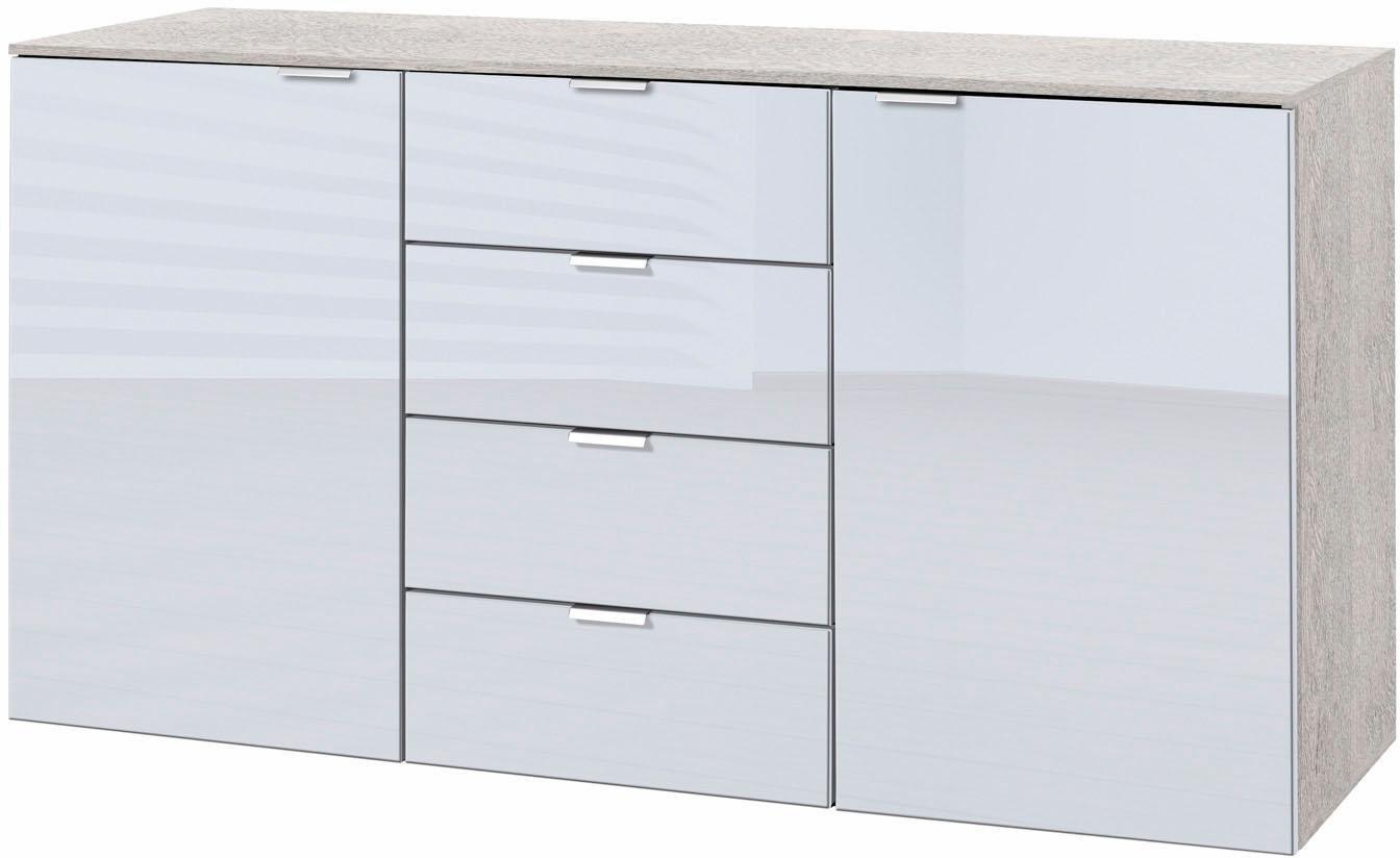 Kommoden, Sideboards und Schminktische - Express Solutions Kombikommode, Breite 140 cm, mit Glas  - Onlineshop OTTO