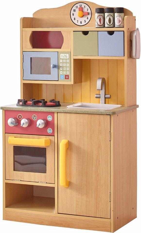TEAMSON™ KIDS Spielküche Holz, Kinderküche mit Accessoires online kaufen    OTTO