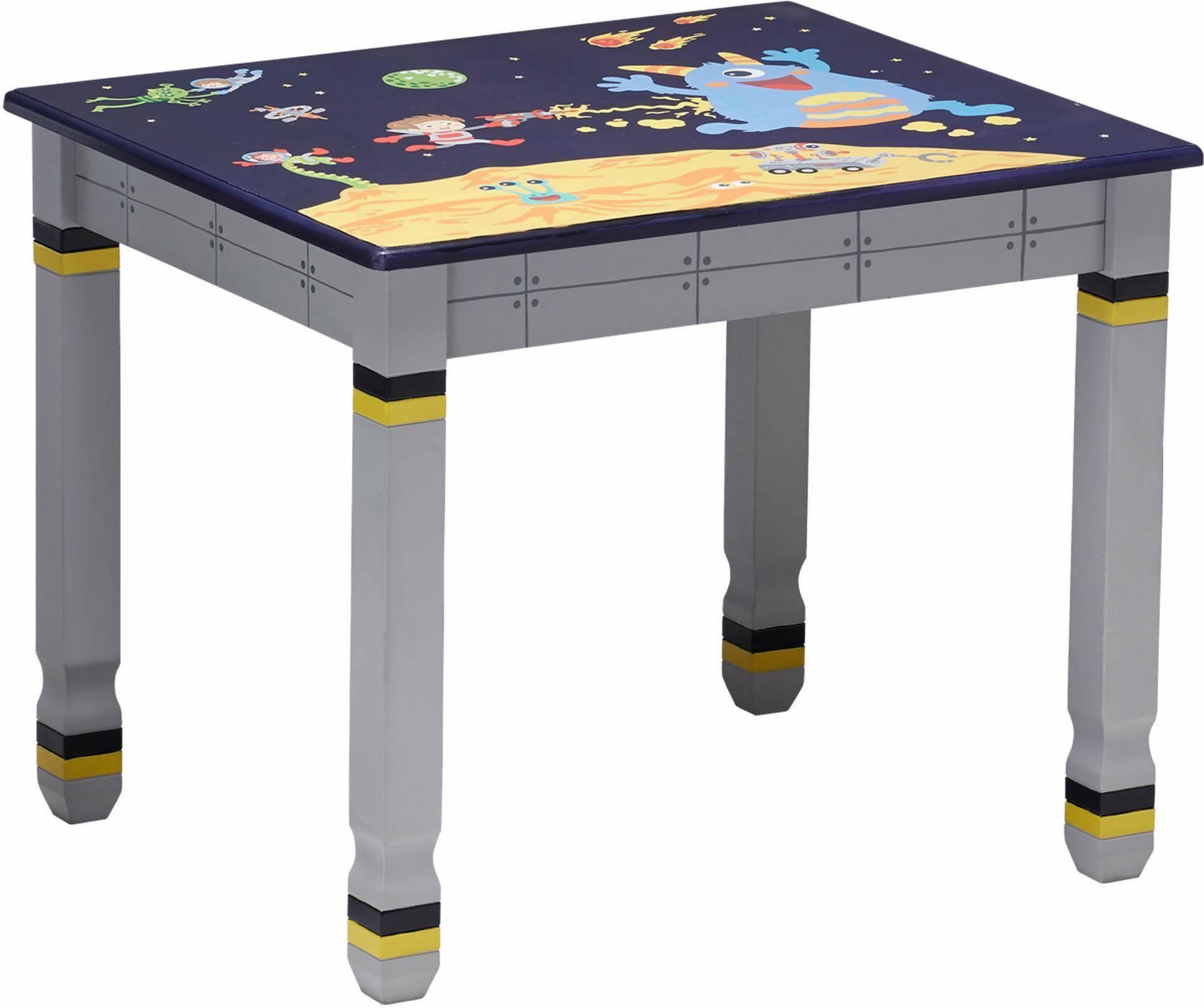Fantasy Fields™ Bemalter Tisch für Kinder, »Kindertisch, Outer Space«