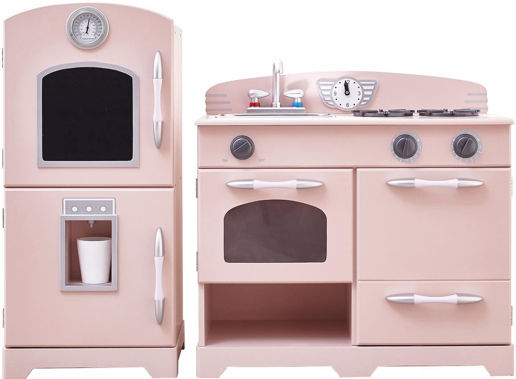 TEAMSON Kids Küche für Kinder, »Spielküche (2-teilig), pink«