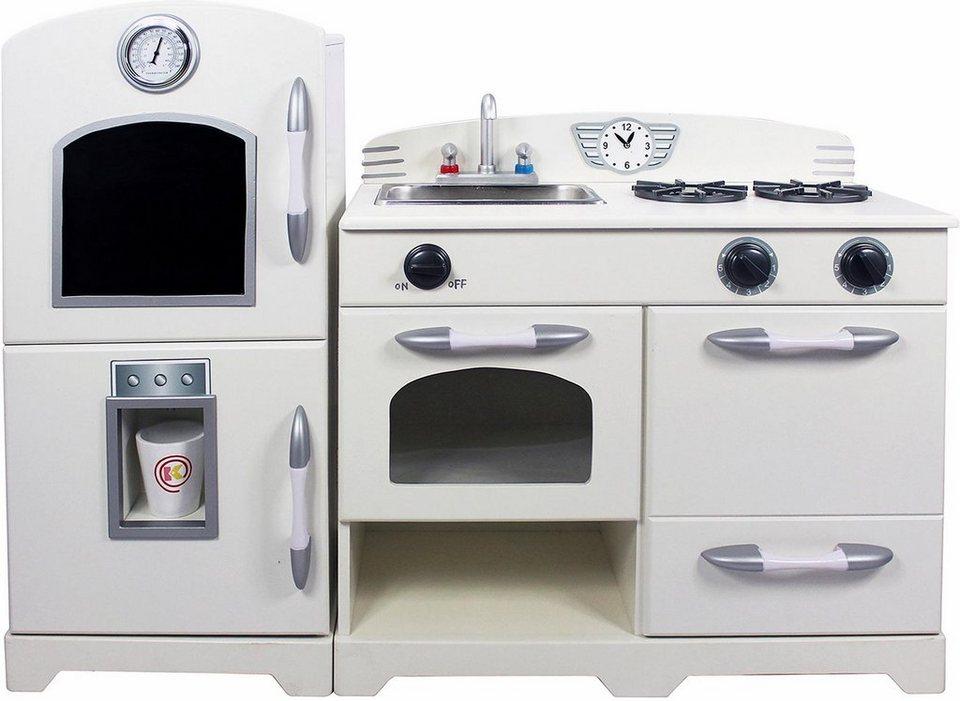 teamson kids k che f r kinder spielk che 2 teilig. Black Bedroom Furniture Sets. Home Design Ideas