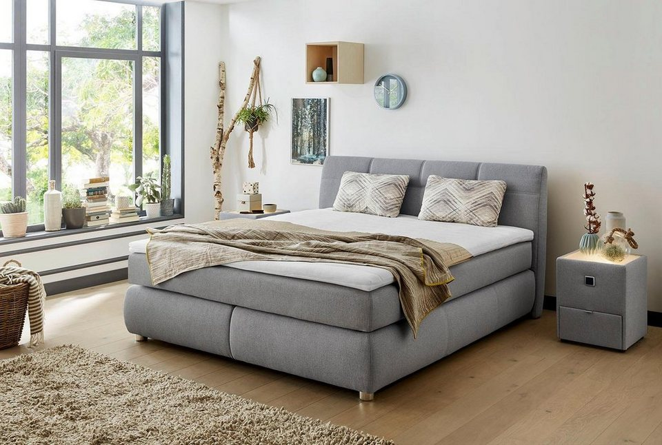 jockenh fer gruppe boxspringbett in h rtegrad 4 mit. Black Bedroom Furniture Sets. Home Design Ideas