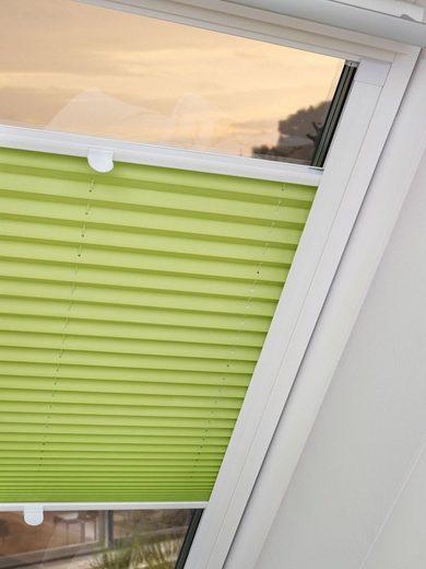 Dachfensterplissee nach Maß »Dena«, Good Life, verdunkelnd, mit Bohren, verspannt